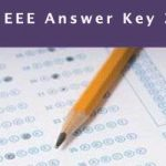 SRMJEEE Answer key 2020