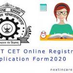 MHT CET Application Form 2020