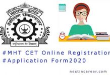 MHT CET Application Form 2020