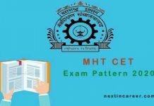 MHT CET Exam Pattern 2020