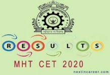 MHT CET Result 2020