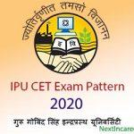 IPU CET Exam Pattern 2020