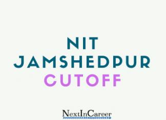 NIT Jamshedpur Cutoff