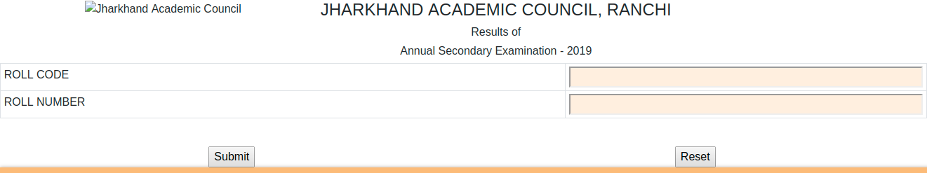 Jharkahnd Clas 10th Result 2019
