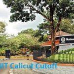 NIT Calicut cutoff