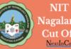 NIT Nagaland Cutoff