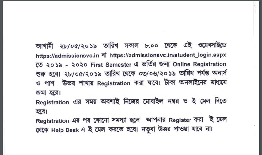 Suri Vidyasagar Merit List 2019