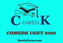 COMEDK 2020