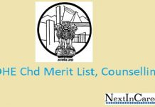 DHE Chd Merit list