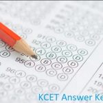 KCET Answer Key 2020