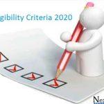 KCET Eligibility Criteria 2020