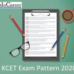 KCET Exam Pattern 2020