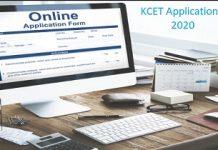 KCET Application Form 2020