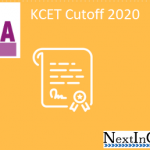 KCET Cutoff 2020