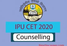 IPU CET Counselling 2020
