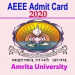 AEEE Admit Card 2020