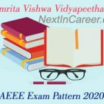 AEEE Exam Pattern 2020