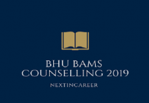 BHU BAMS Counselling 2019