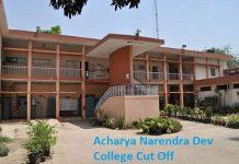 Acharya Narendra Dev College Cut Off