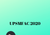 UPSMFAC 2020