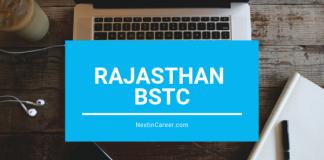 RAJRMSA BSTC 2019