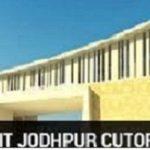 IIT Jodhpur Cutoff