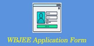 WBJEE Application Form 2020