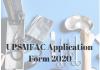 UPSMFAC Application Form 2020