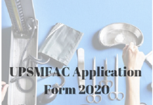 UPSMFAC Application Form 2020