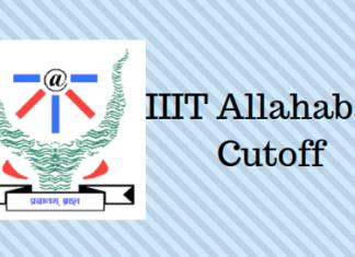 IIIT Allahabad Cutoff