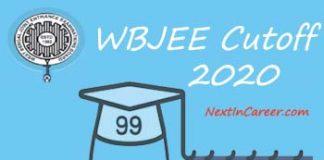 WBJEE Cut off 2020