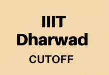 IIIT Dharwad Cutoff