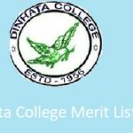 Dinhata College Merit List
