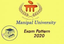 Manipal University Exam Pattern 2020