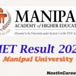 Manipal University Result 2020