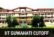 IIT Guwahati Cutoff