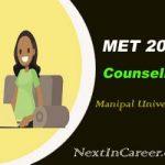 Manipal University Counselling 2020