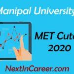 Manipal University Cut off 2020