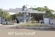 NIT Surat Cutoff