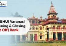 IIT BHU Varanasi Cutoff