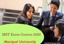 MET Exam Centres 2020