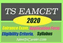 TS EAMCET 2020
