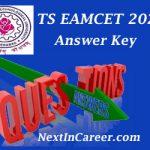 TS EAMCET Answer Key 2020