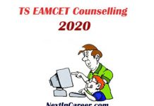 TS EAMCET Counselling 2020