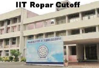 IIT Ropar Cutoff