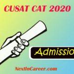 CUSAT CAT 2020