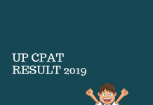 UP CPAT Result 2019