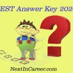 JEST Answer key 2020