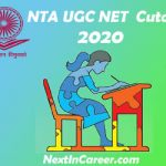 UGC NET Cut off 2020