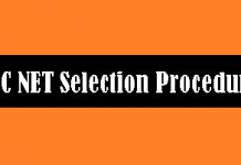 UGC NET Selection Procedure